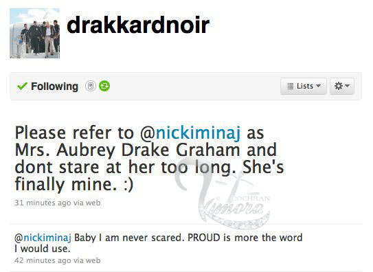Told Nicki I Her I It Love I Admit Minaj