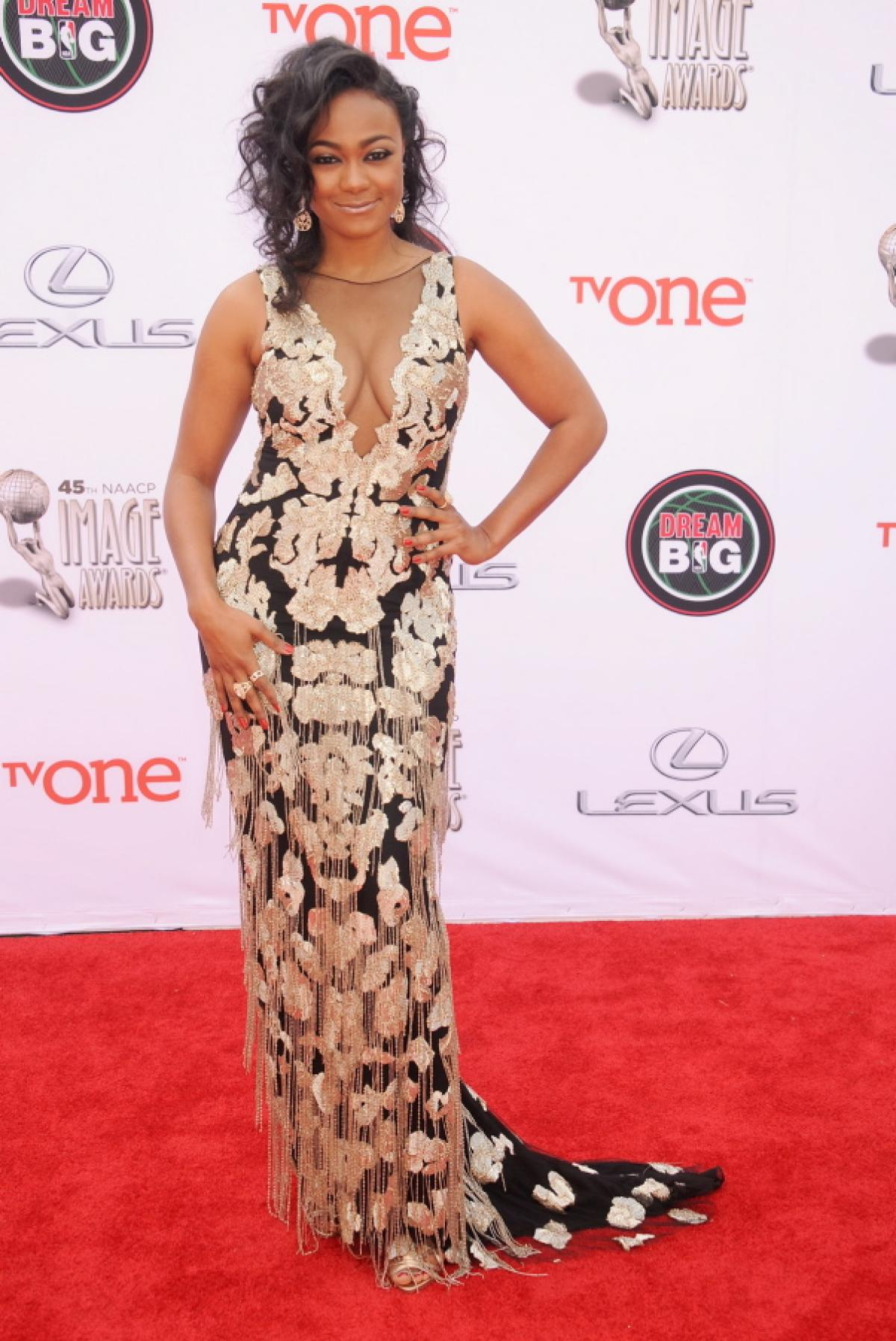 2014 naacp image awards red carpet looks lala foxx